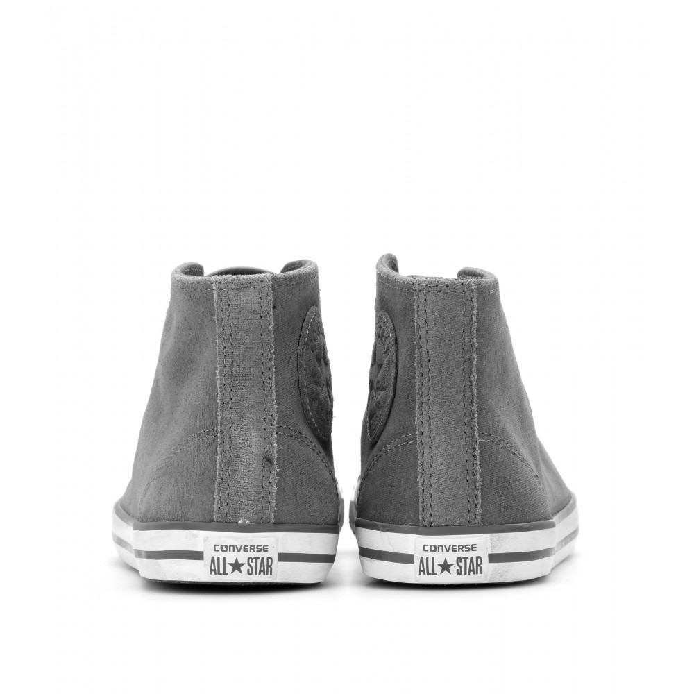 converse all star chuck taylor dainty mid shearling trainers