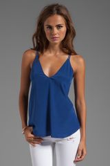 Rory Beca York Double Strap Cami in Blue - Lyst