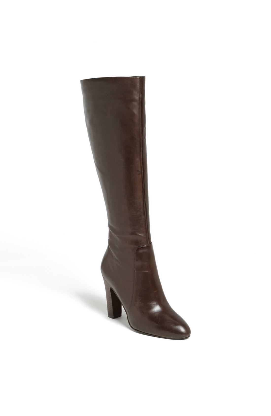 via spiga ailey boot in brown brown calf lyst