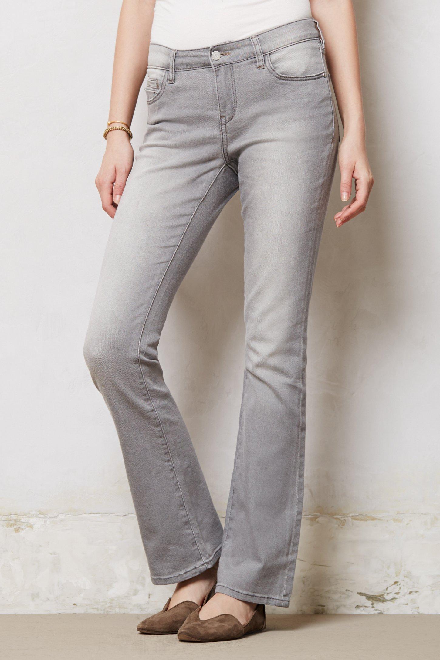 Pilcro Pilcro Stet Slim Bootcut Jeans in Gray | Lyst