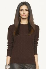 Black Label Classic-fit Cabled Cashmere - Lyst
