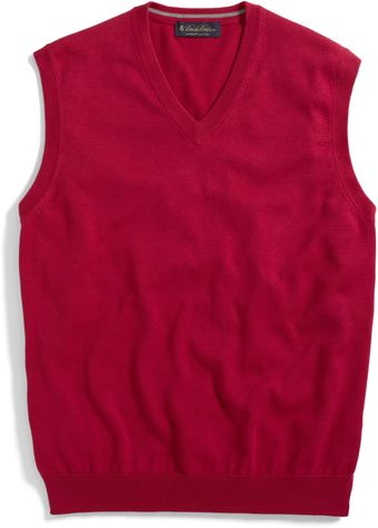 Brooks Brothers Supima Vest - Lyst