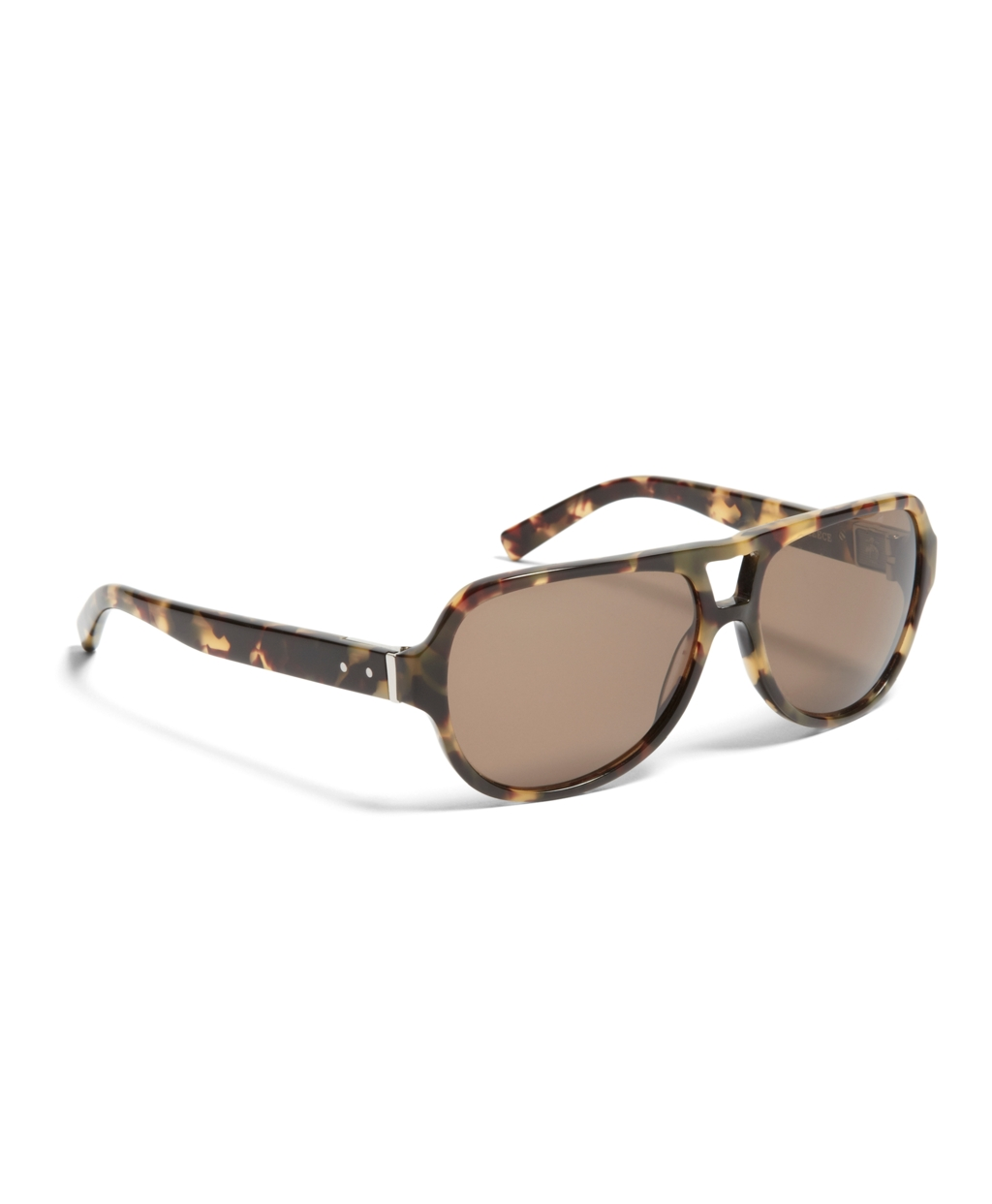 6a9e2bc4c3 Lyst - Brooks Brothers Black Fleece Tortoise Aviator in Brown for Men