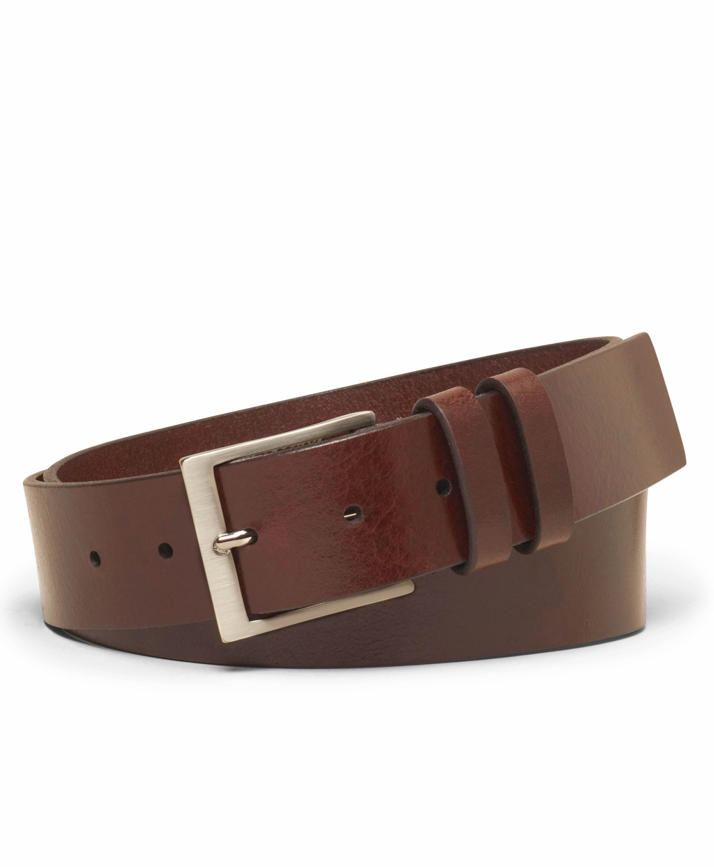 brothers square buckle belt in brown for lyst