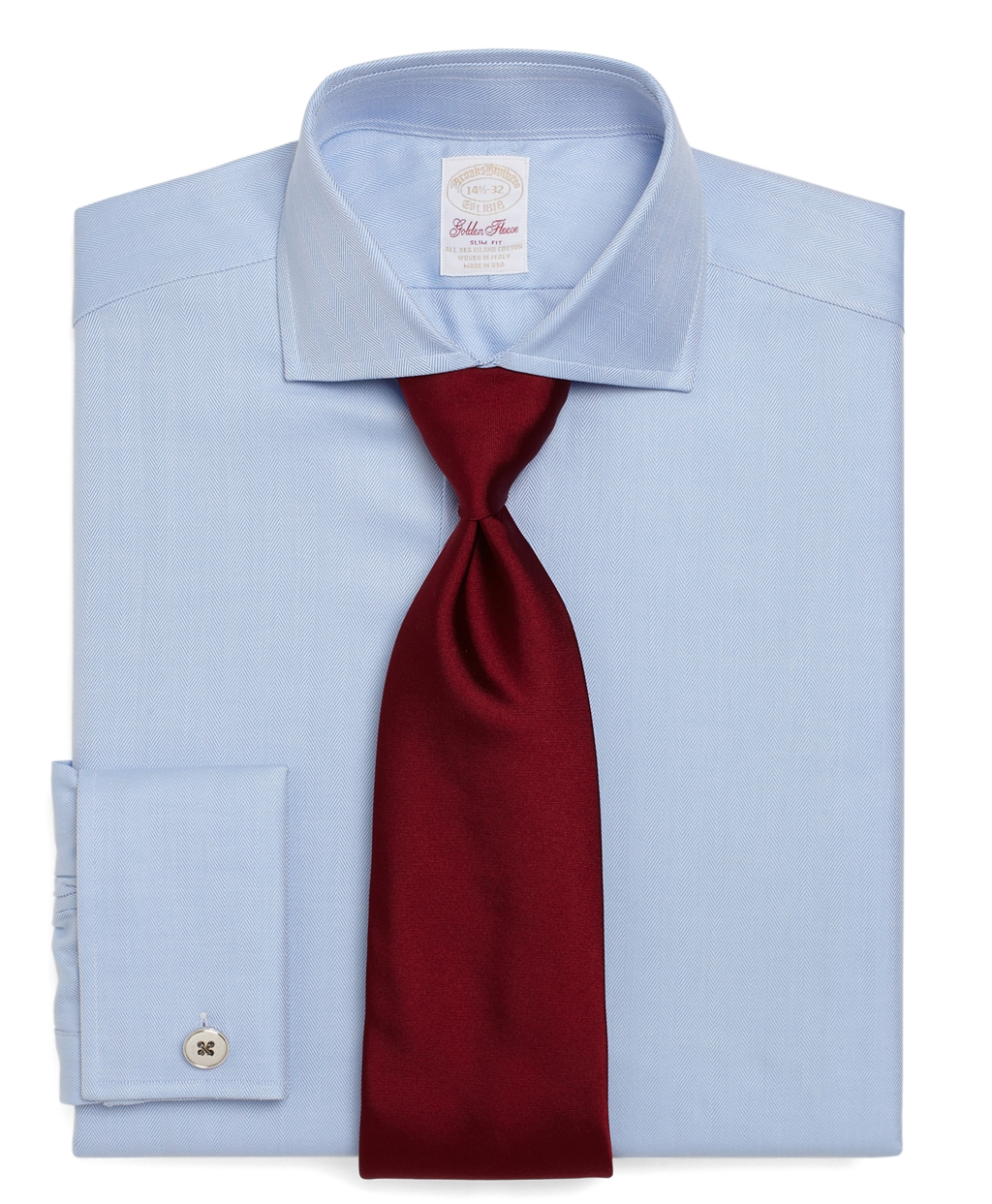 brooks brothers golden fleece regent fit herringbone