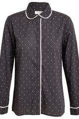 Chinti And Parker Stag Printed Cotton Shirt - Lyst