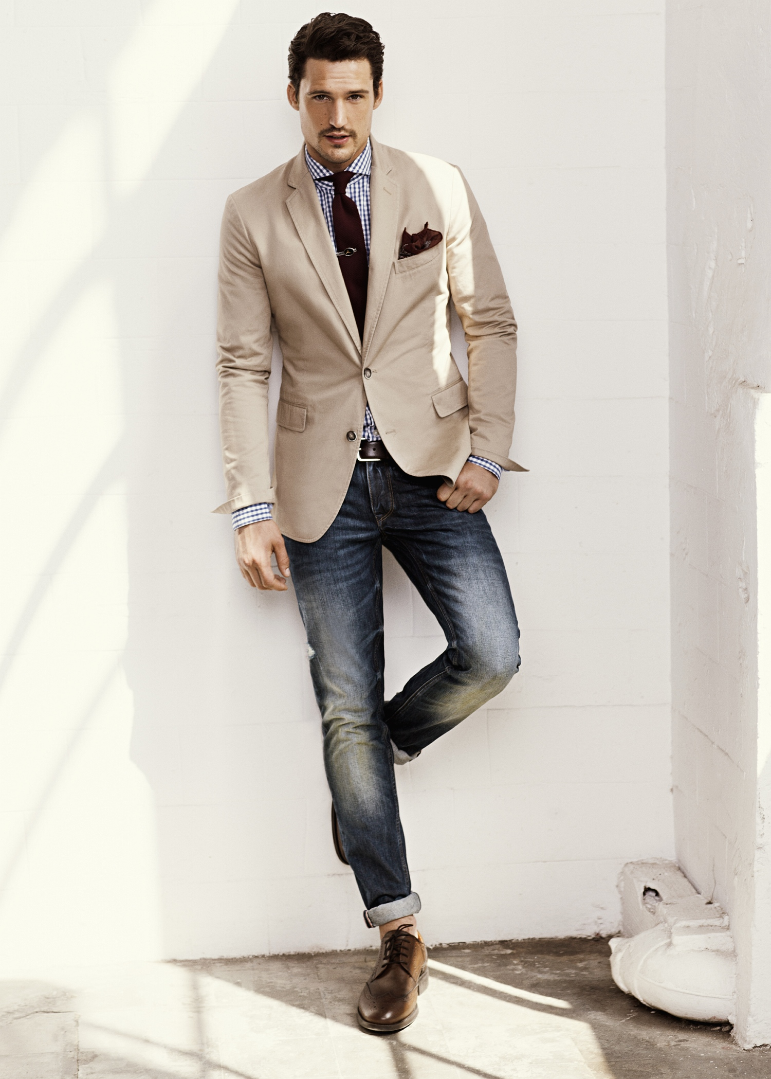 Mango Suit Jacket Florida1 in Natural for Men | Lyst