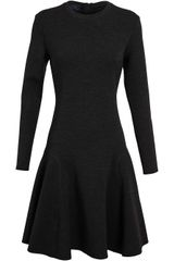 Lanvin Stretch-wool Dress - Lyst