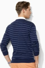 Polo Ralph Lauren Longsleeved V-neck Sweater - Lyst