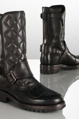 Ralph Lauren Grover Leather Boot - Lyst