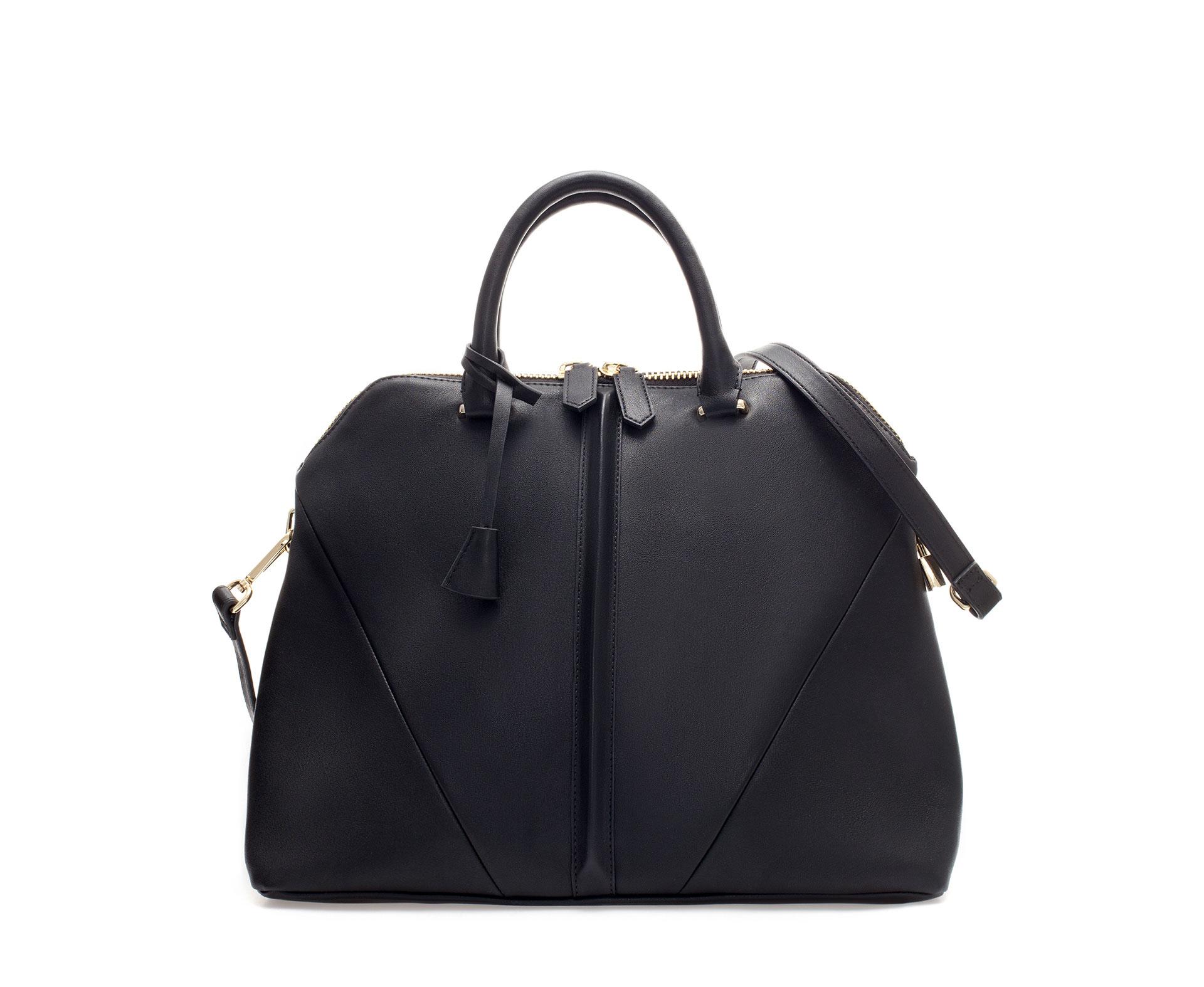 Zara City Bag With Shoulder Strap 117