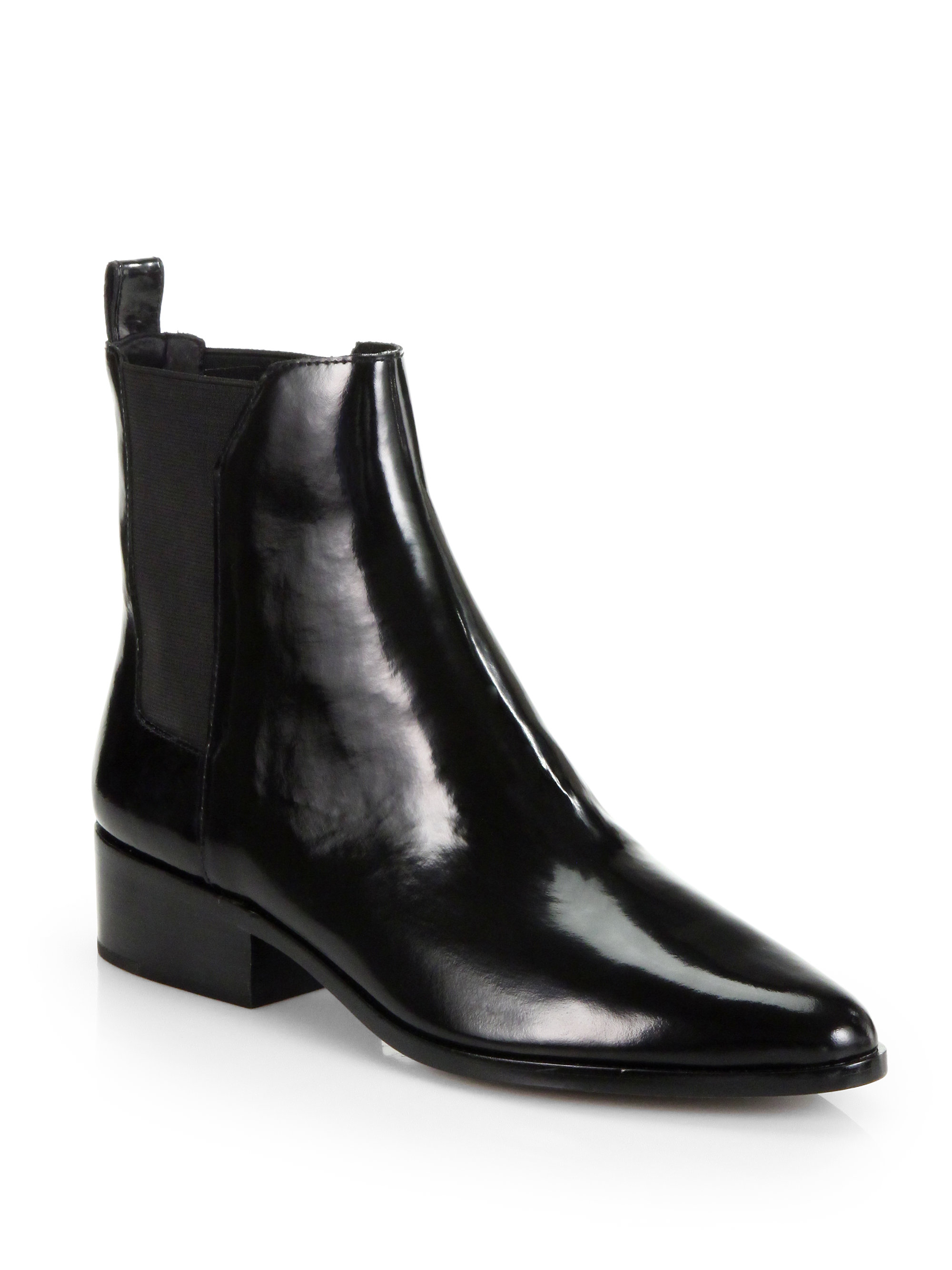 3.1 Phillip Lim Black Leather Ankle Boots 6iqCuMSTDZ