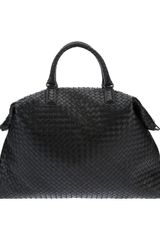 Bottega Veneta Large Woven Leather Tote - Lyst