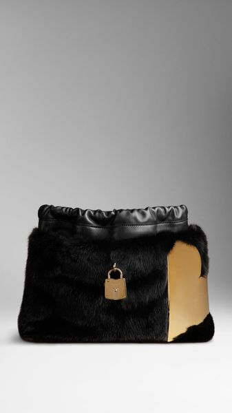 Burberry The Little Crush in Mink with Metal Heart - Lyst