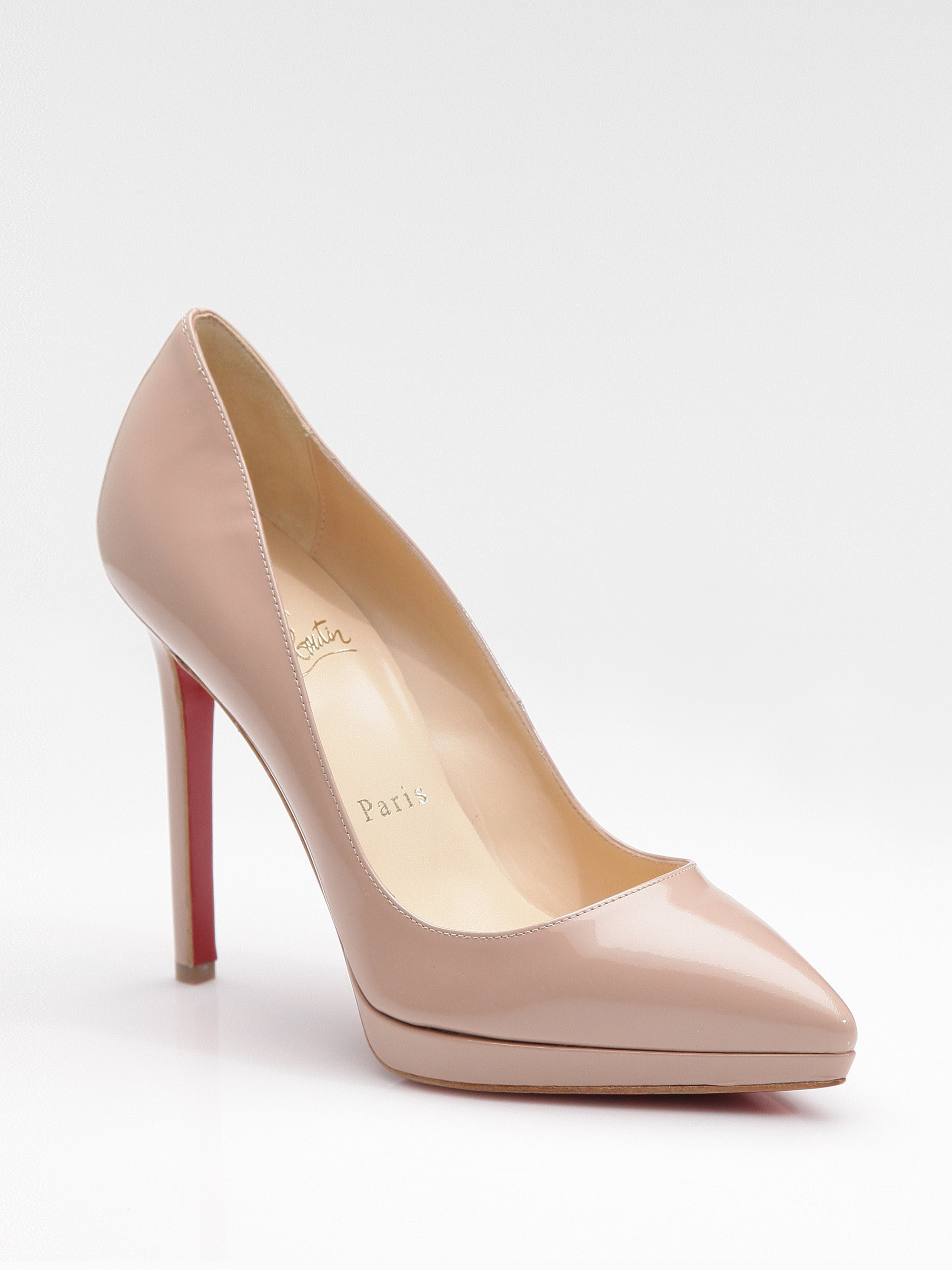 1aa5f5081da2 Gallery. Previously sold at  Saks Fifth Avenue · Women s Christian  Louboutin Pigalle Women s Christian Louboutin Plato