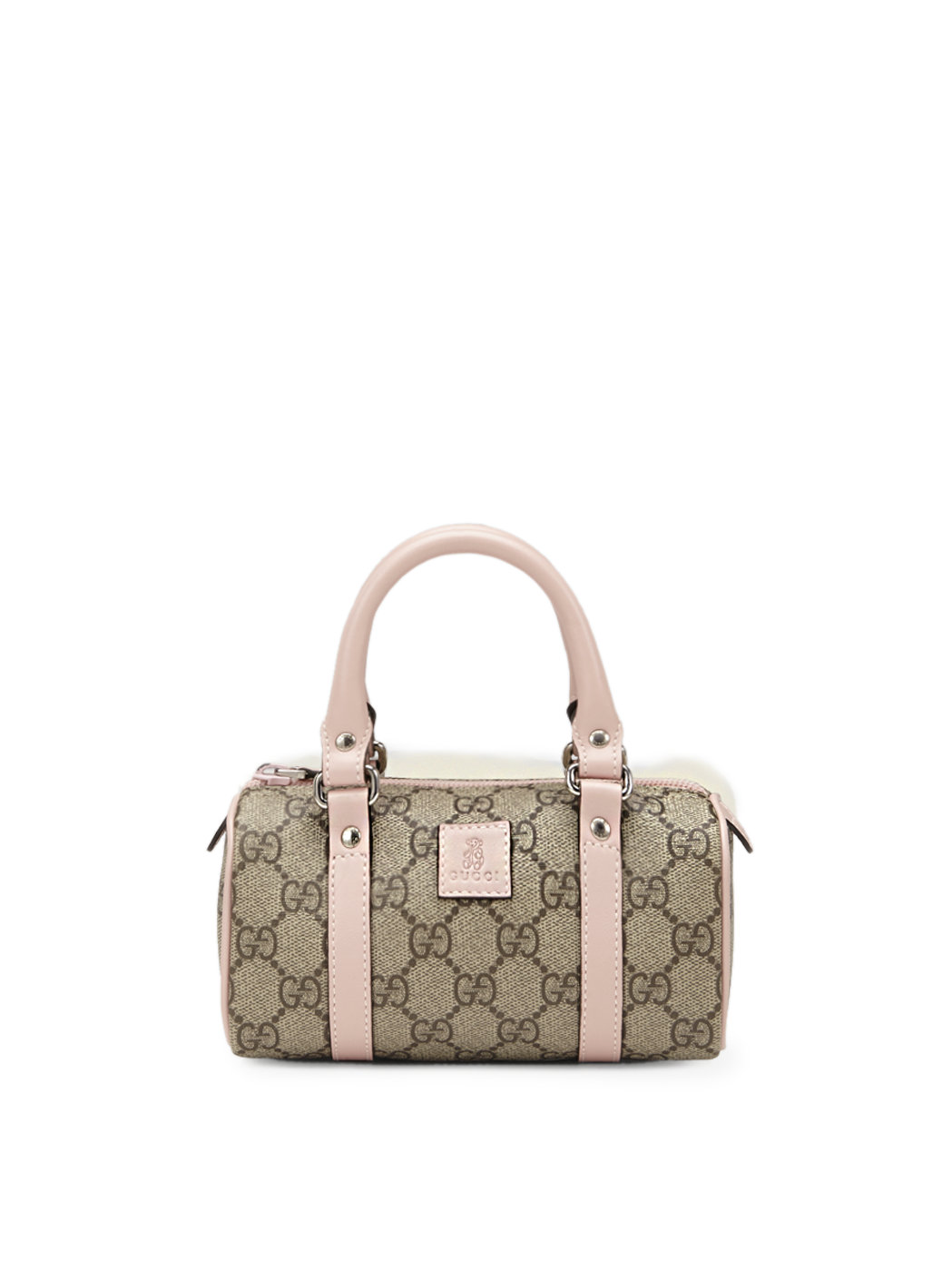 728fa61a2f Gucci Girls Gg Plus Top Handle Bag in Gray - Lyst