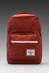 Herschel Supply Co. Pop Quiz Backpack in Burgundy - Lyst