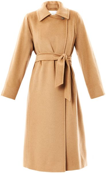 Max Mara Manuela Coat in Brown (camel) - Lyst