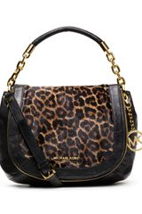 Michael Kors Michael Medium Stanthorpe Calfhair Shoulder Bag - Lyst
