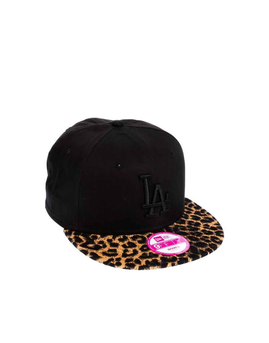 d62916f6112 ... cheapest lyst ktz black leopard new york yankees snapback cap in black  108c8 f4ffd