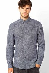 Hugo Boss Ps Paul Smith Shirt with Floral Print Slim Fit - Lyst