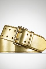 Ralph Lauren Leather Doubleprong Belt - Lyst