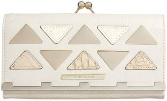 River Island Metal Triangle Detail Purse - Lyst