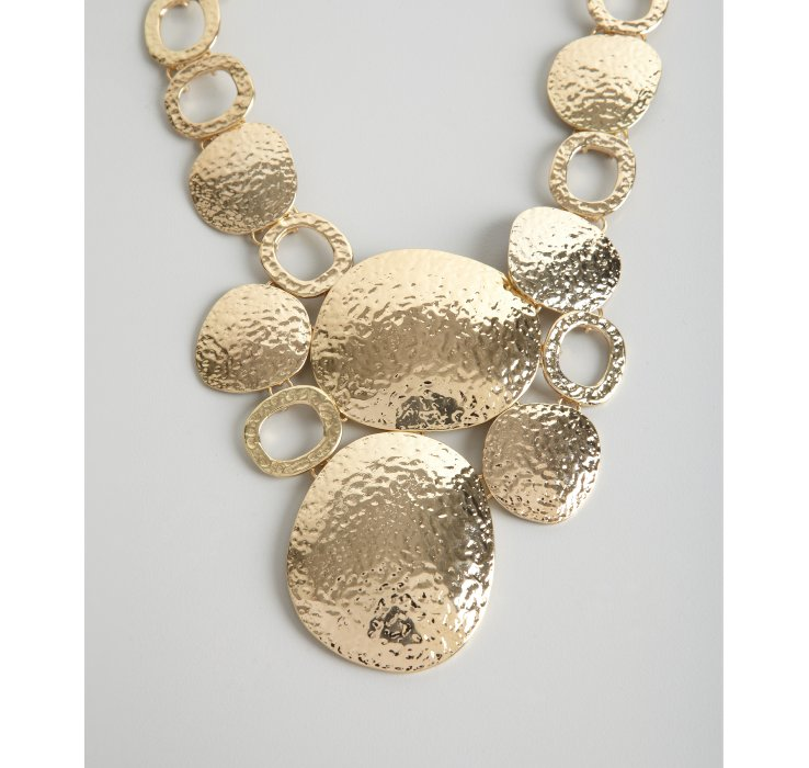 necklace metallic in product choker ball golden graziano j rj normal jewelry lyst r