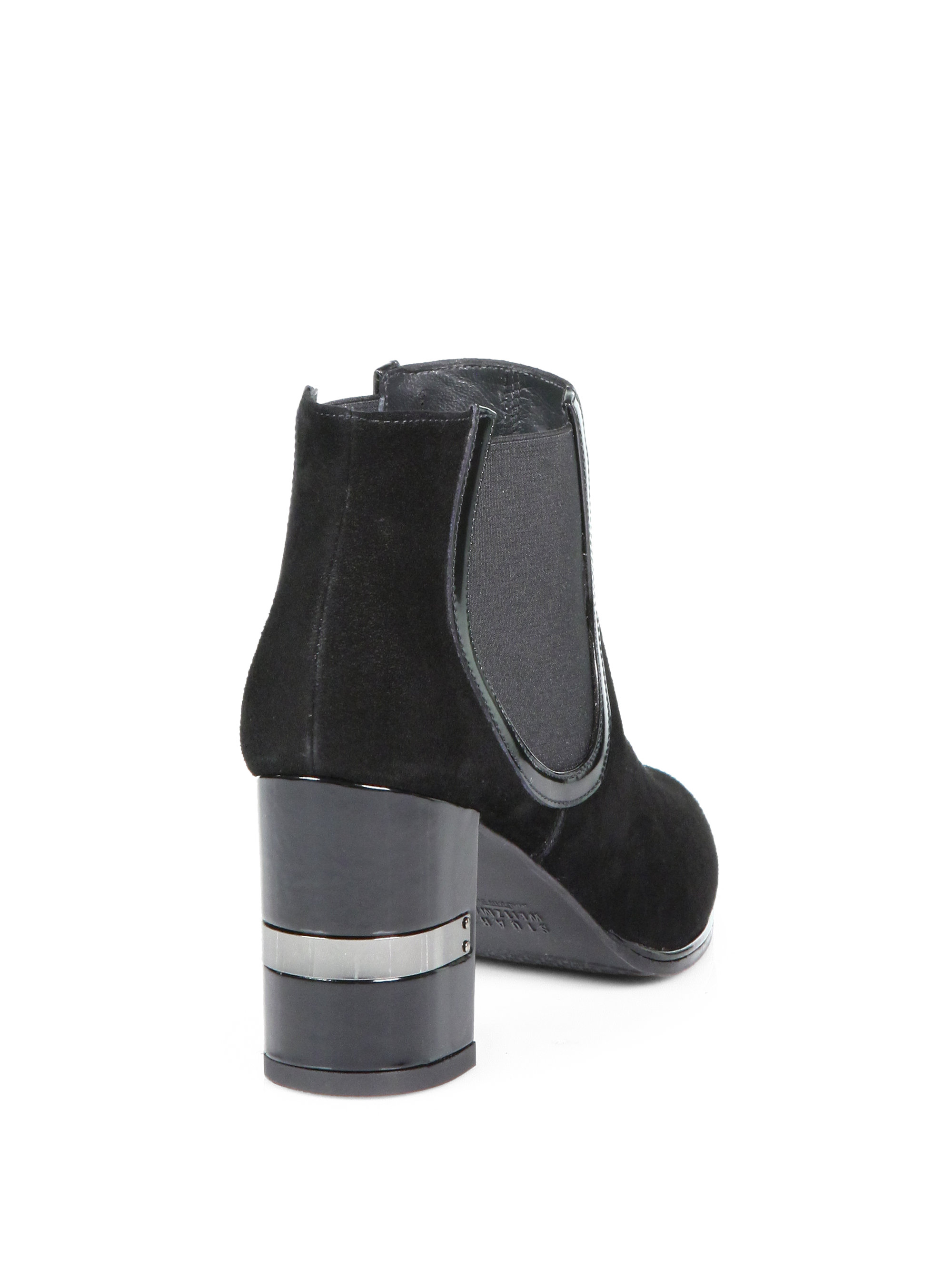 cheap sale 100% guaranteed Stuart Weitzman Nostress Suede Ankle Boots free shipping extremely free shipping the cheapest jKiKAd