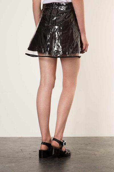Clear Plastic Skirt 47