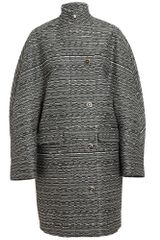 Balenciaga Cristobal Classic Wool Tweed Coat - Lyst