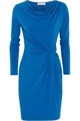 Michael by Michael Kors Knot Effect Stretch Dress - Lyst