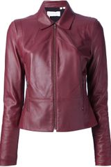 10 Crosby by Derek Lam Diamond Leather Jacket - Lyst