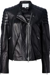 3.1 Phillip Lim Cross Front Biker Jacket