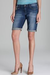 Joe's Jeans Shorts Medium Blue Easy Bermuda in Elle - Lyst