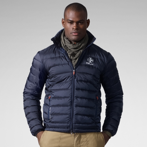 Rugged Mens Clothing Rlx ralph lauren Explorer Down Jacket in Blue for Men | Lyst