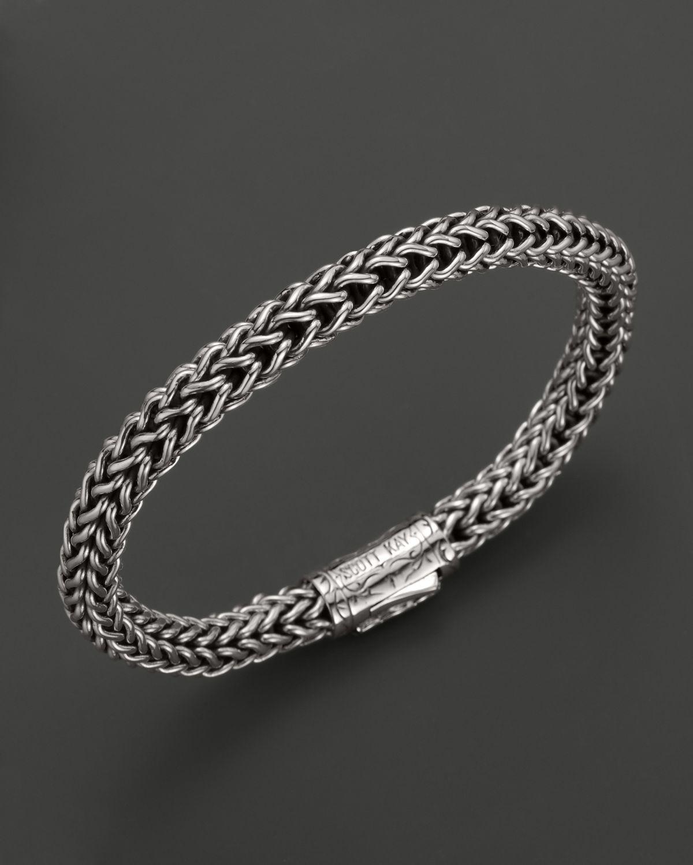 Scott Kay Mens Sterling Silver Round Doberman Bracelet