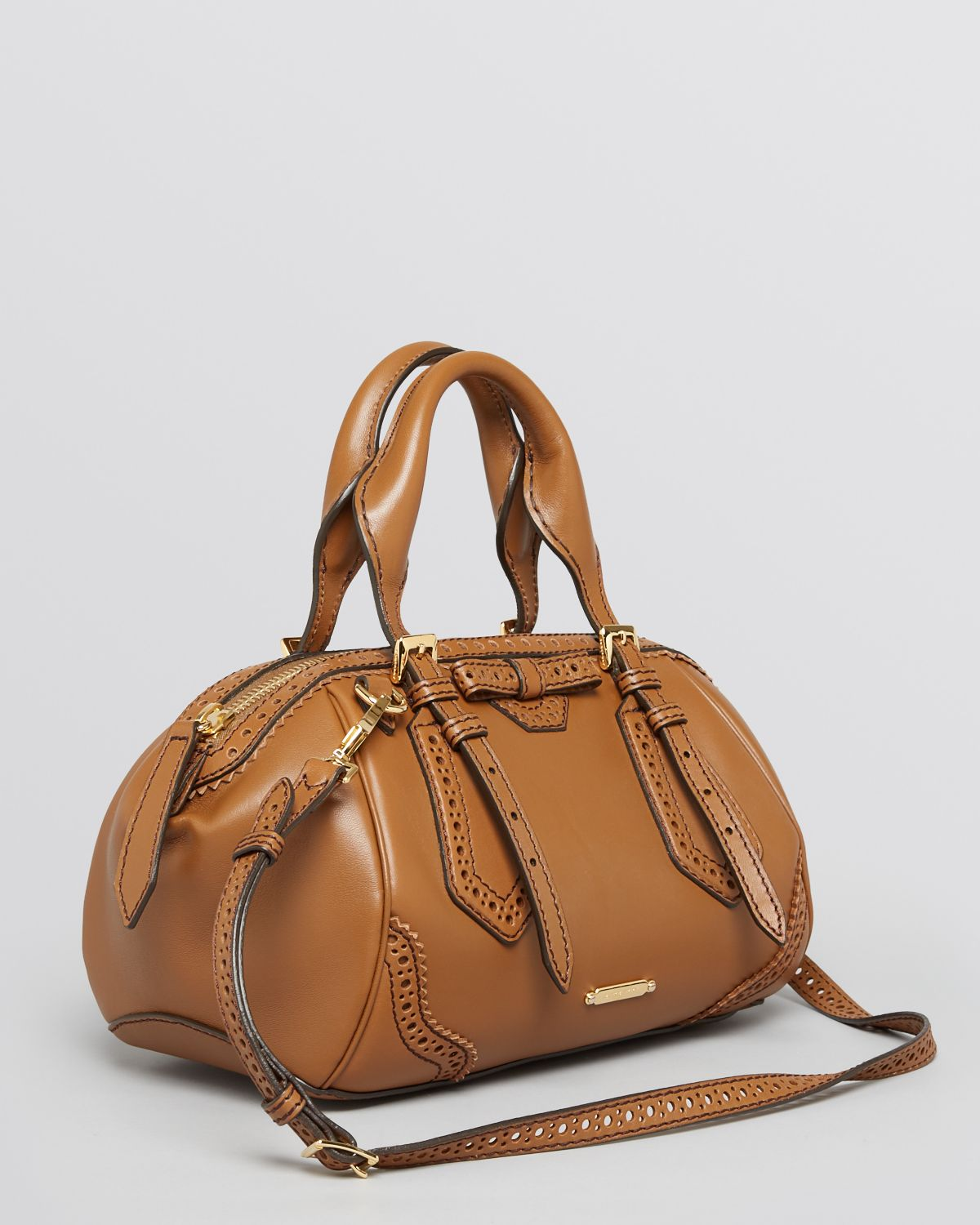 d89cd0af078f Lyst - Burberry Satchel Small Blaze in Brown