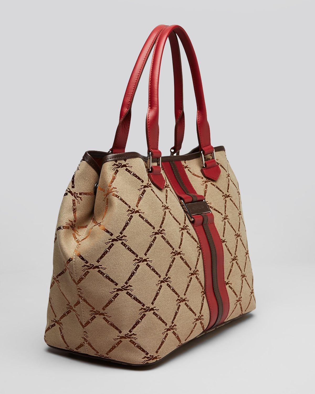 Longchamp Jacquard Tote