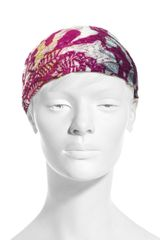 Missoni Mare Chevron Knit Head Band - Lyst