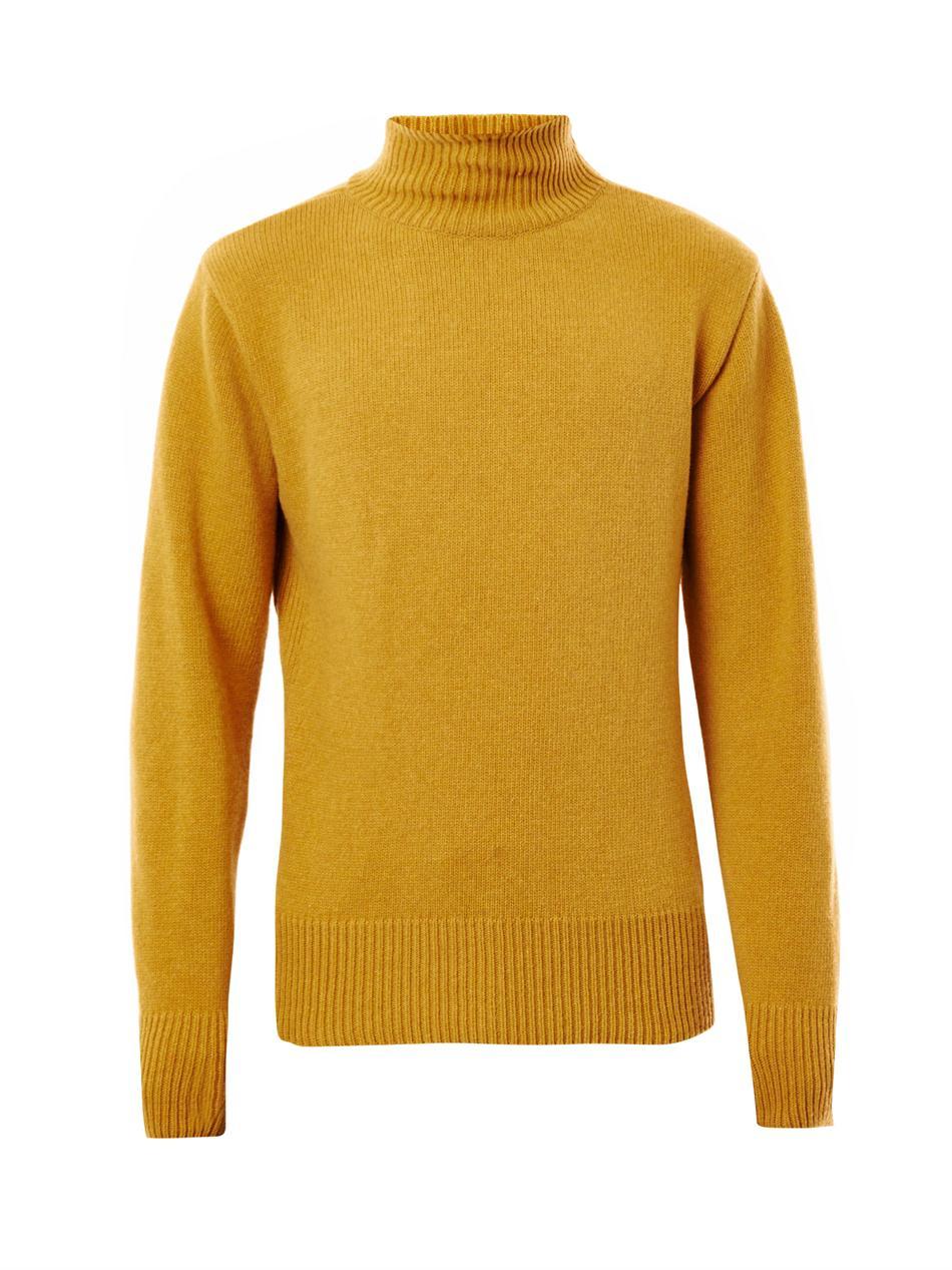 Boiled Wool Sweater