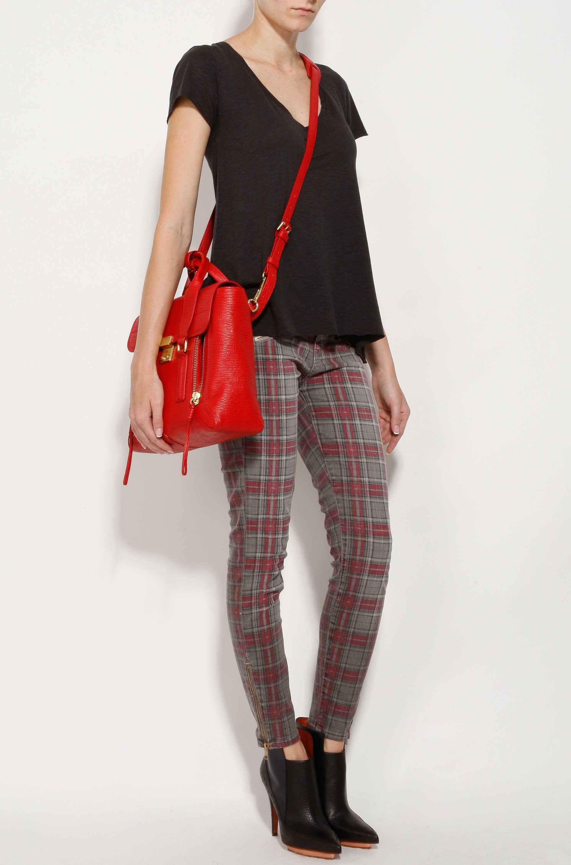 mini Pashli satchel - Red 3.1 Phillip Lim ALM6RYXZ