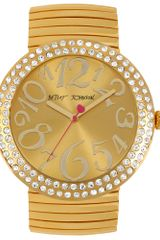 Betsey Johnson Womens Gold Tone Stainless Steel Expansion Bracelet 48mm 03 - Lyst