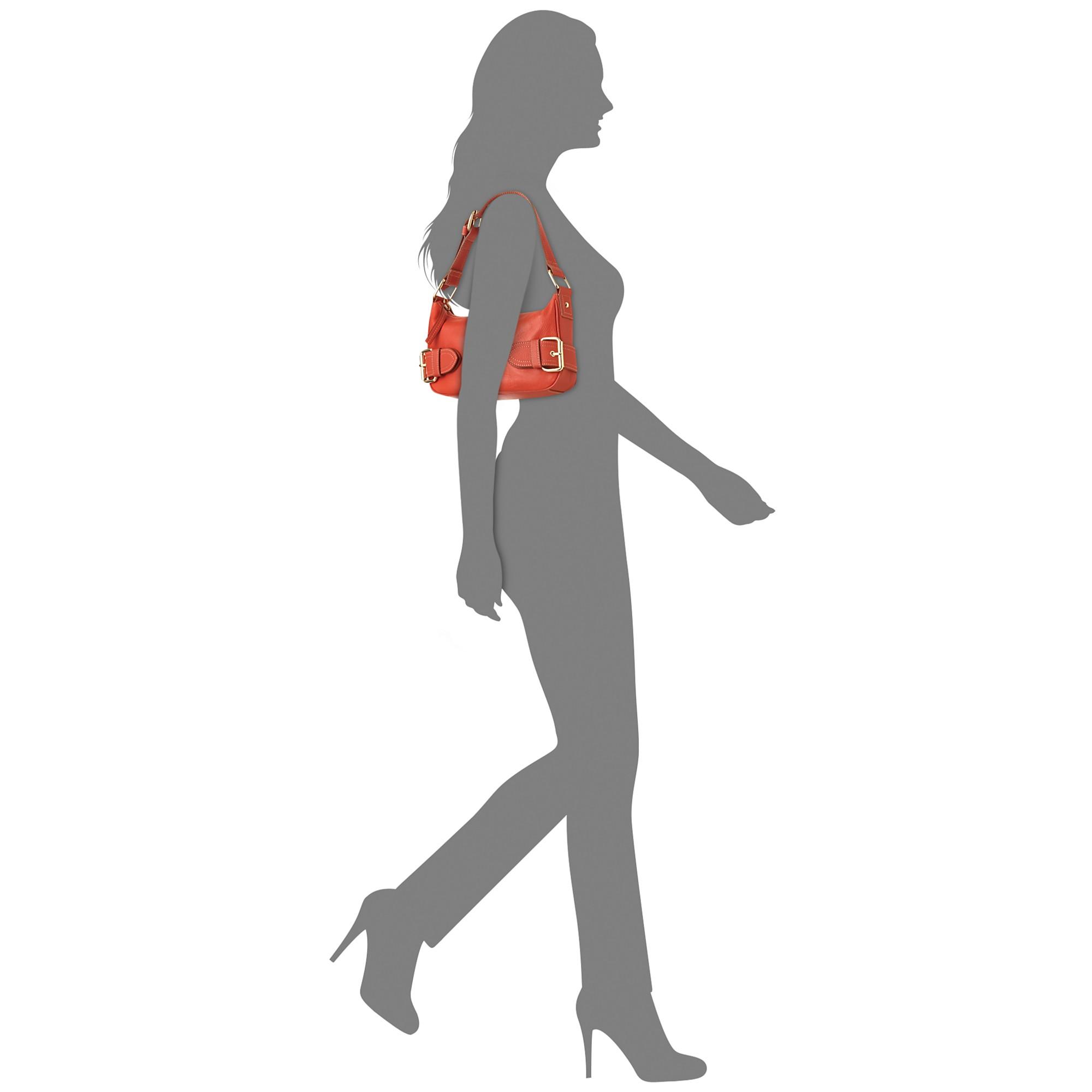 2c690bb68635 Lyst - Franco Sarto Jolie Top Zip Shoulder Bag in Metallic