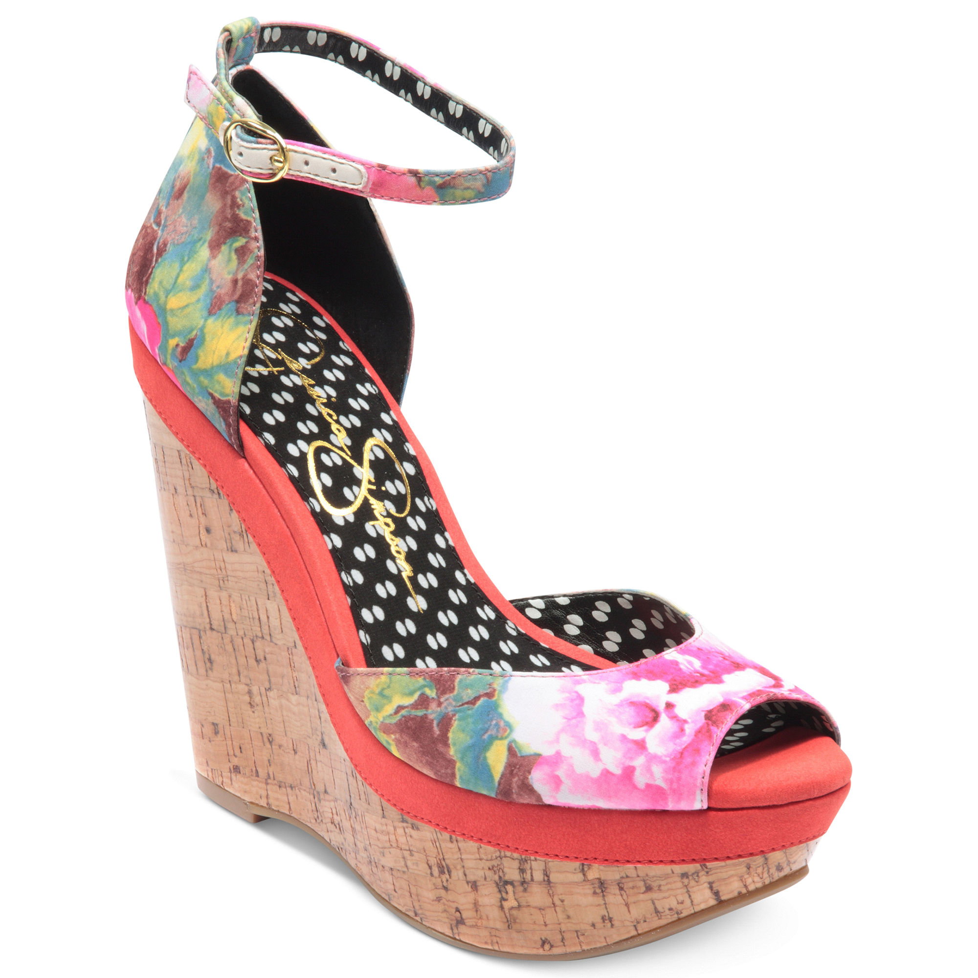 17a4cfcb7f8 Lyst - Jessica Simpson Keira Platform Wedge Sandals
