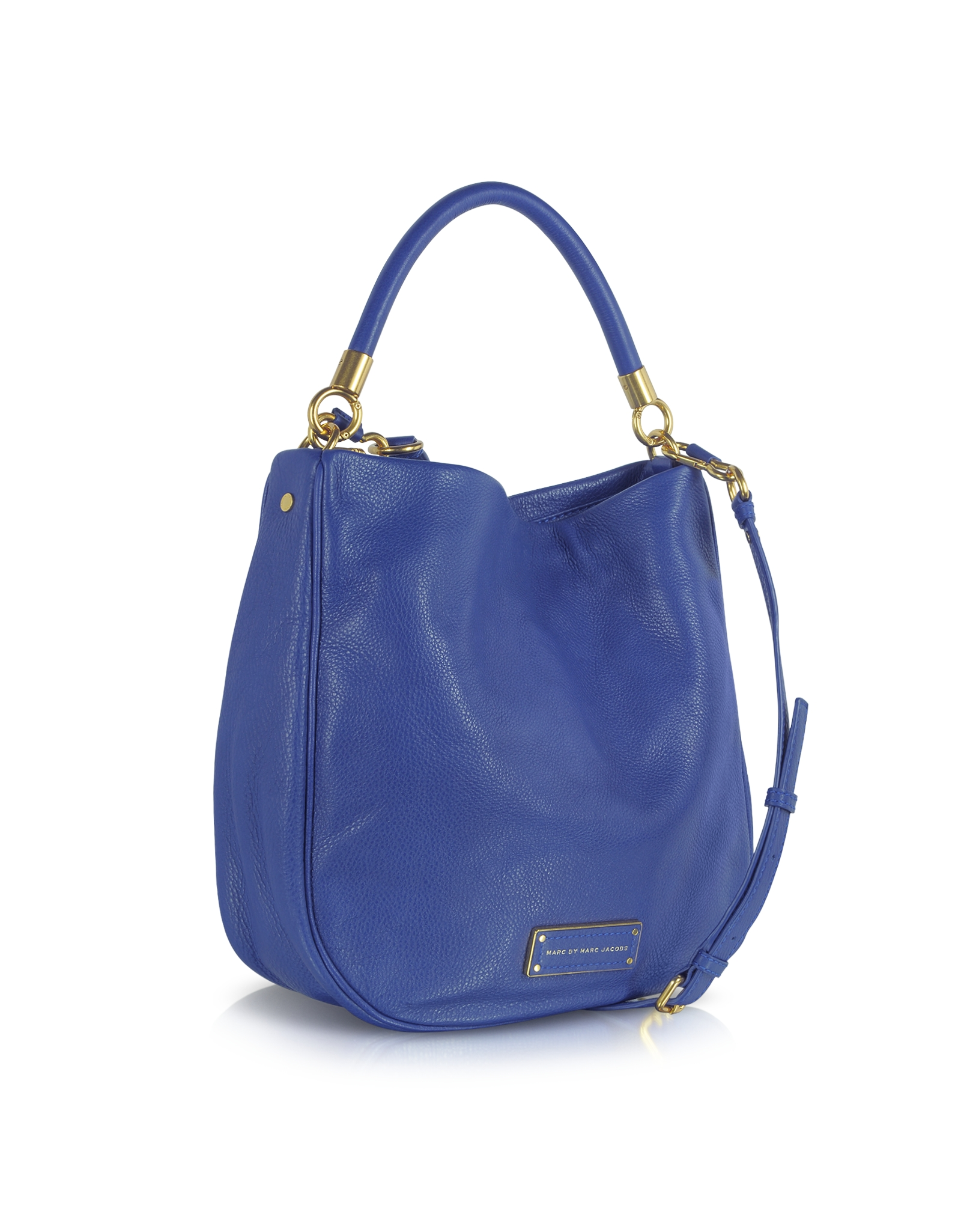 56f48d92ec46 Lyst - Marc By Marc Jacobs Too Hot To Handle Bauhaus Blue Hobo Bag ...