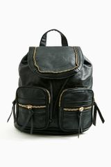 Nasty Gal Zip It Backpack - Lyst