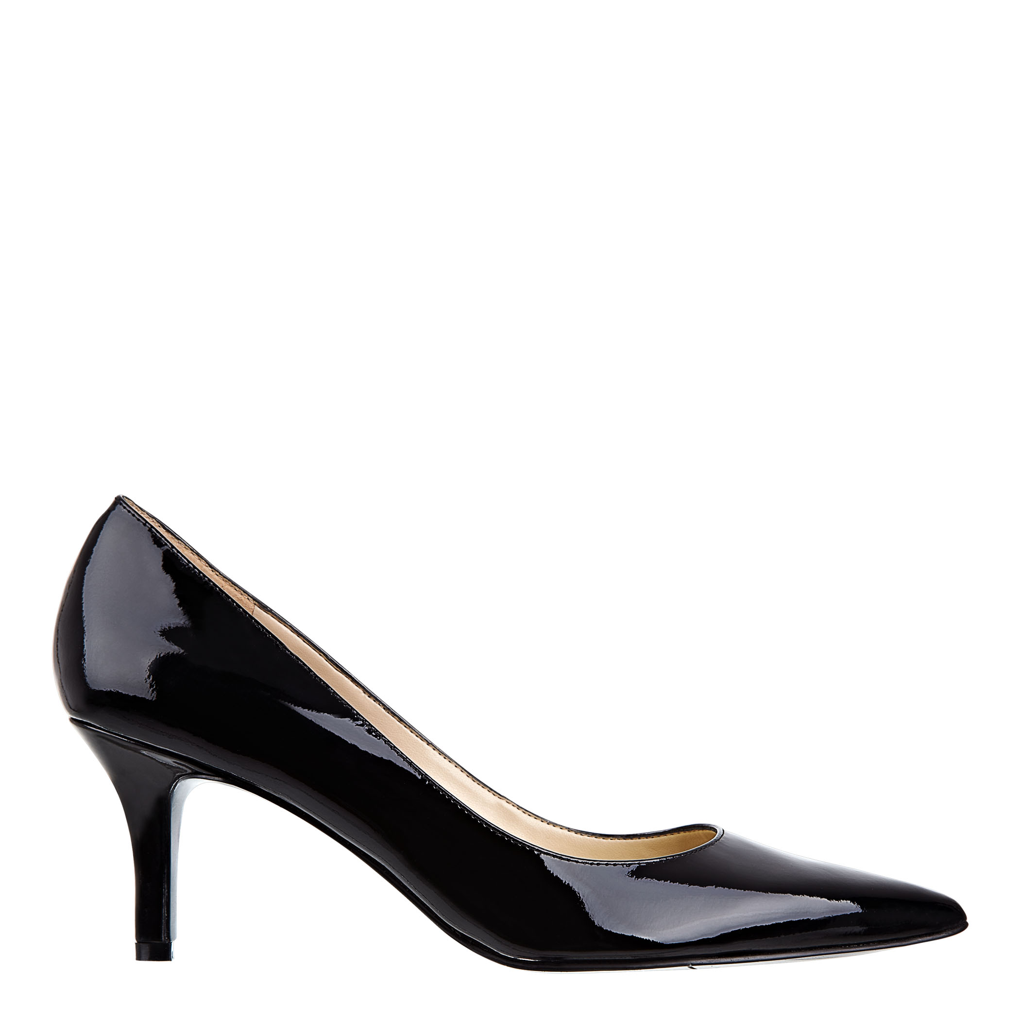 abbffc84570 Lyst - Nine West Andriana Pointy Toe Pump in Black