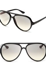 Ray-Ban Gradient Plastic Aviator Sunglasses - Lyst