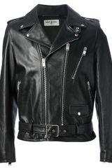 Saint Laurent Classic Biker Jacket - Lyst